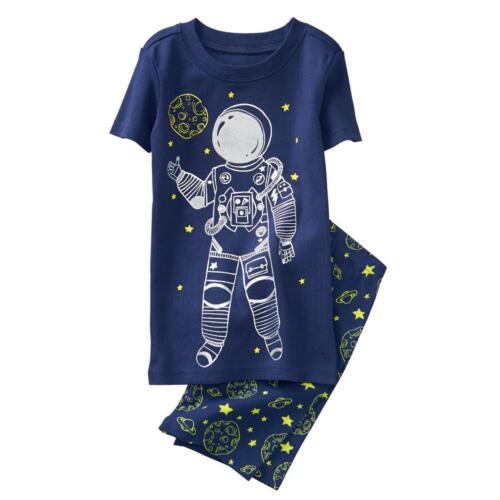 NWT Gymboree Boys gymmies Pajamas set Astronaut Shortie many sizes
