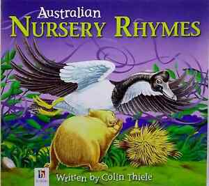 Australian-Nursery-Rhymes-by-Colin-Thiele-new-illustrated-picture-book-animals