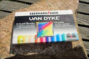 11 Eberhard Faber Van Dyke Pastel Huile Farinage En Ovp Artiste Peintre Craie