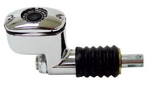Rear Brake Master Cylinder Chrome Harley Davidson 1999-2007 Touring Models FLHT