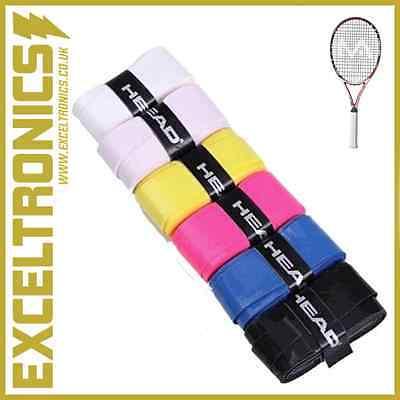 Testa Alta Qualità Tennis Squash Badminton Racchetta Grip Nastro Antislittamento Overgrip-mostra Il Titolo Originale