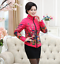 Women-Winter-Floral-Coat-Jacket-Puffer-Parka-Padded-Quilted-Outwear-Plus-Sz-N10 thumbnail 4