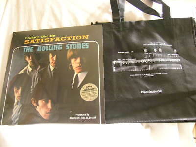 Rolling stones satisfaction Grocery Tote Bag