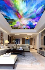 3D Abstract Graffiti 7 Ceiling Wall Paper Print Wall Indoor Wall Murals CA Lemon