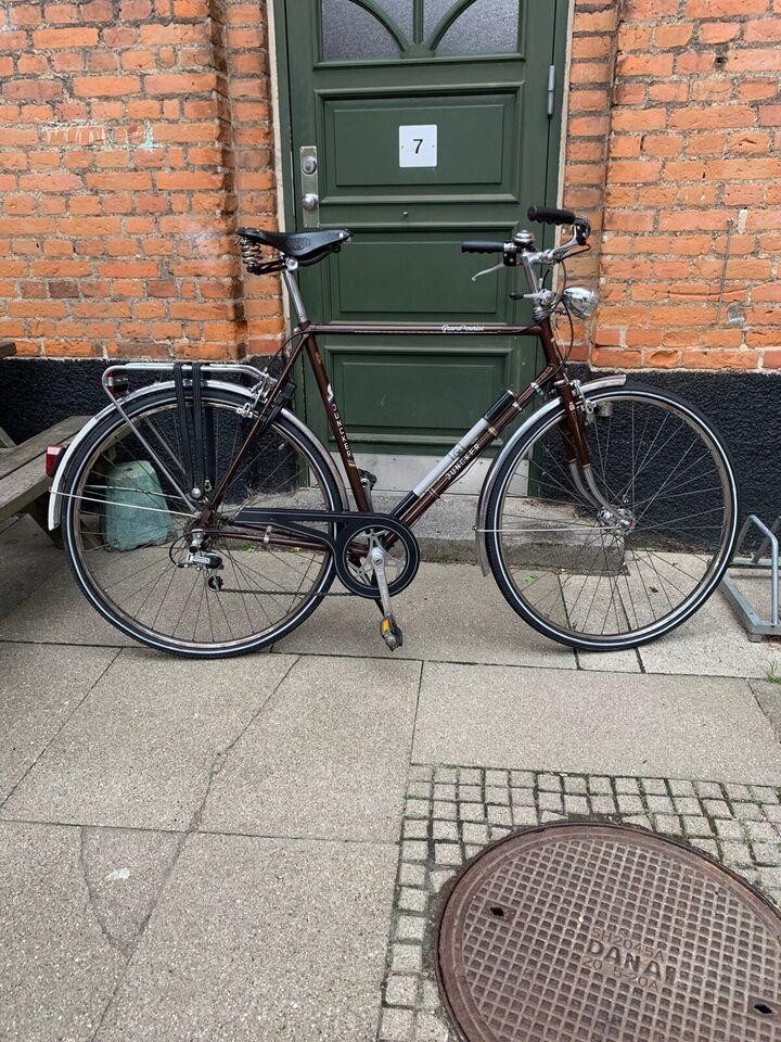 Herrecykel, andet mærke Grand tourist, 5 gear