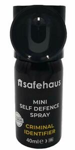 Mini-Spray-Anti-Agression-Auto-Defense-Marquage-de-l-039-Agresseur-Gel-Rouge-40ml
