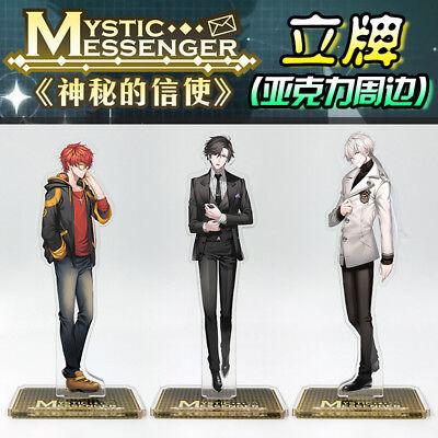 Mystic Messenger Zen Jumin 707 Yoosung Jaehee V Rika Acrylic Stand Figure