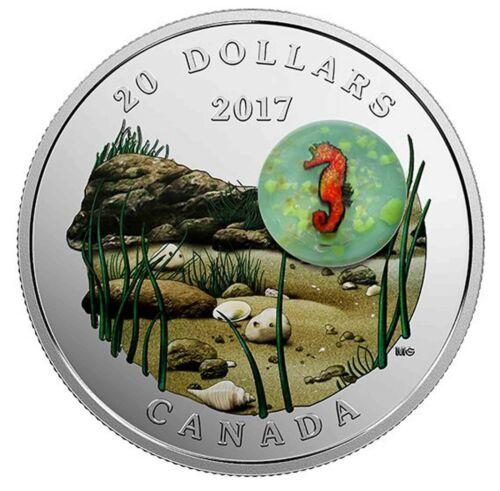 2017 Canada S$20 Under The Sea Seahorse Murrini Glass NGC PF70 Ultra Cameo