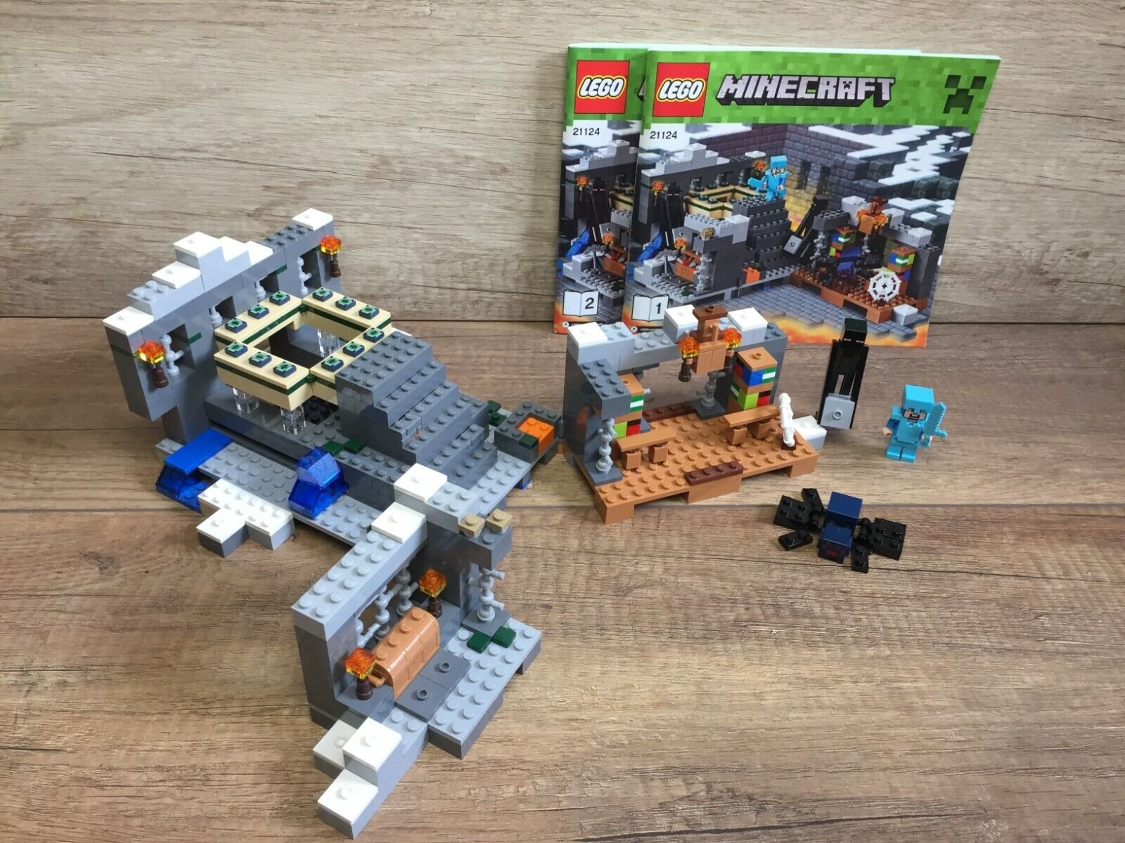 LEGO 21124 the end portale Minecraft il  portale end  edizione limitata