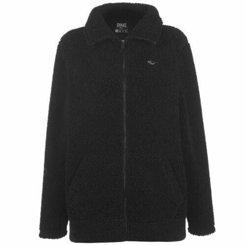 Everlast Womens Urban Bomber Jacket Lined Hoodie Coat Top Hoody Hooded Long