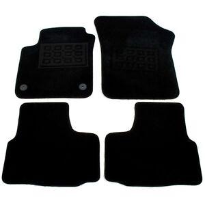 VW-UP-Seat-Mii-Skoda-Citigo-Velours-Fussmatten-Stoffmatten-Satz-4-Teilig