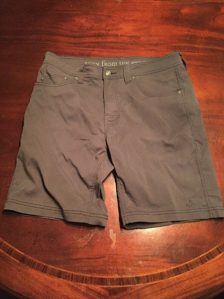"""PrAna Men's(33) Navy bluee Hybrid Swim Shorts """"Born From The Experience"""". TL7"""