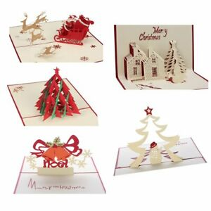 5-Set-3D-Christmas-Cards-Pop-Up-Greeting-Holiday-Cards-Gifts-for-Xmas-New-Year