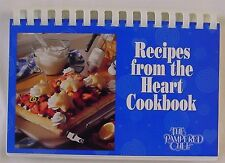 Pampered Chef Recipes from the Heart Cookbook 1997 Plastic Ring Binder QUANTITY