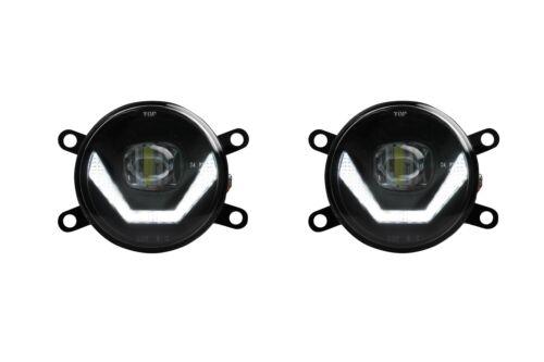 Cree chip LED FAROS ANTINIEBLA combina con circulación diurna para peugeot 4007