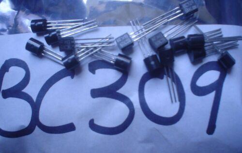 Transistores de silicio planar-epitaxial BC309
