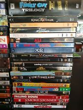 Lot of 49 Mixed Movie DVD Lot Action Drama Comedy Great titles!! #1