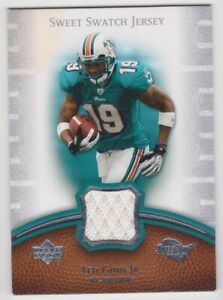 Details about 2007 UD Sweet Swatch Jersey Ted Ginn Jr.Dolphins/Panthers Rookie RC G-W Jersey