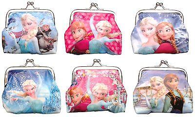 1Pcs Frozen Coin Purse Girl Boy Kids Wallet Elsa Anna Party School Birthday Gift
