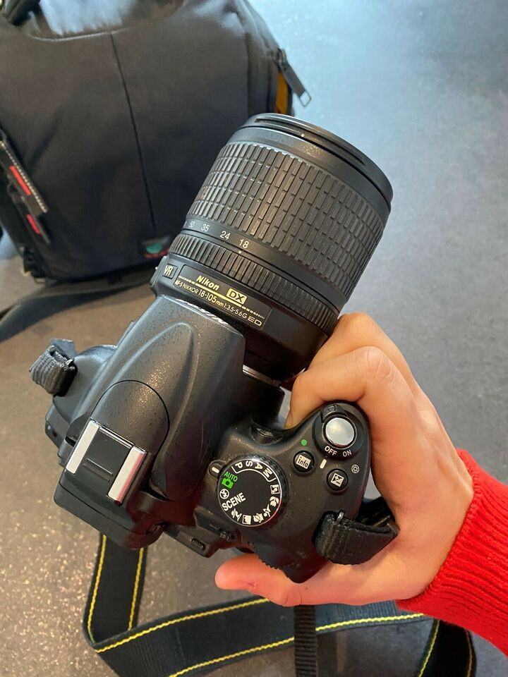 Nikon D5000 DX, spejlrefleks, God