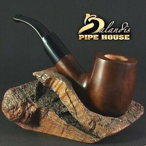 """Balandis fatto a mano pere legno pipa tabacco pipa """"Condor"""" liscio tk211"""