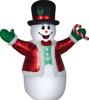 8.5/' airblown Giant Deluxe Snowman Inflatable Christmas Yard Decor
