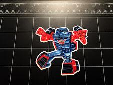 Transformers G1 Windcharger box art vinyl decal sticker Autobot toy 1980's 80s