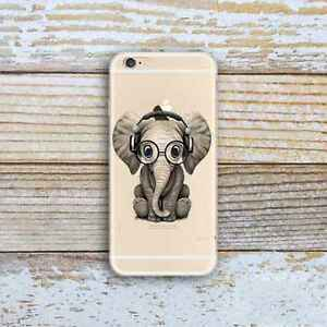 Cute-Elephant-Slim-Rubber-TPU-Silicone-Case-Soft-Cover-for-iPhone-Samsung-Huawei