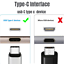 miniature 3 - 10ft USB C Fast Charger Cable Lot Type C Charging Cord For SamsungS8 S9 S10 Note