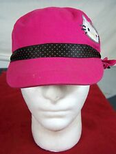 SANRIO HELLO KITTY HAT HOT PINK ONE SIZE STRETCH GIRLS YOUTH