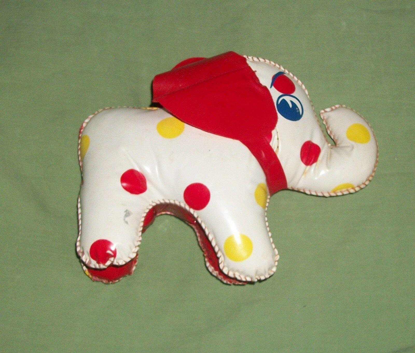 Ciudad De Colección Cochenaval Circo Feria novedad juguete de premio Vinilo Elefante Paquidermo Jumbo
