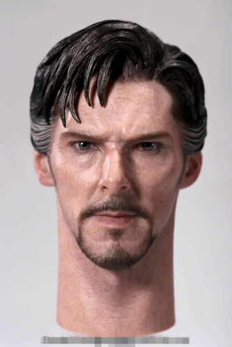 1:6 Scale Doctor Strange Benedict Cumberbatch Head Sculpt Fit 12/'/' Male Figures