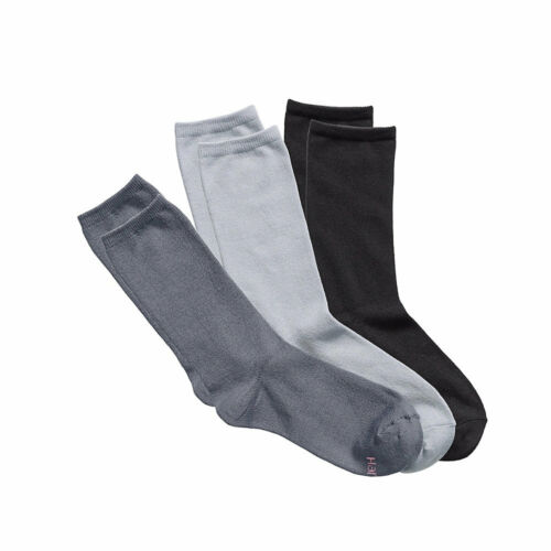 9-11 Taille Hanes Femmes ComfortSoft Crew Chaussettes 3-Pack