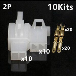 380pcs Electrical Male Female Spade Connectors 2.8mm Wire Crimp Terminals Block