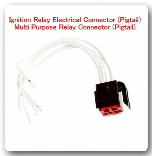 5 Wire Harness Pigtail Connector for Multi Purpose Relay Ry46 Fits ...