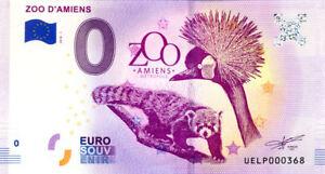 80-AMIENS-Zoo-N-de-la-5eme-liasse-2018-Billet-0-Souvenir