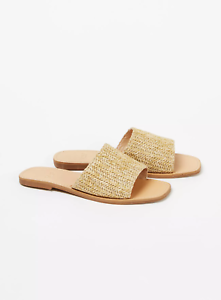 Evans Nude Extra Wide Fit Weave Slip on