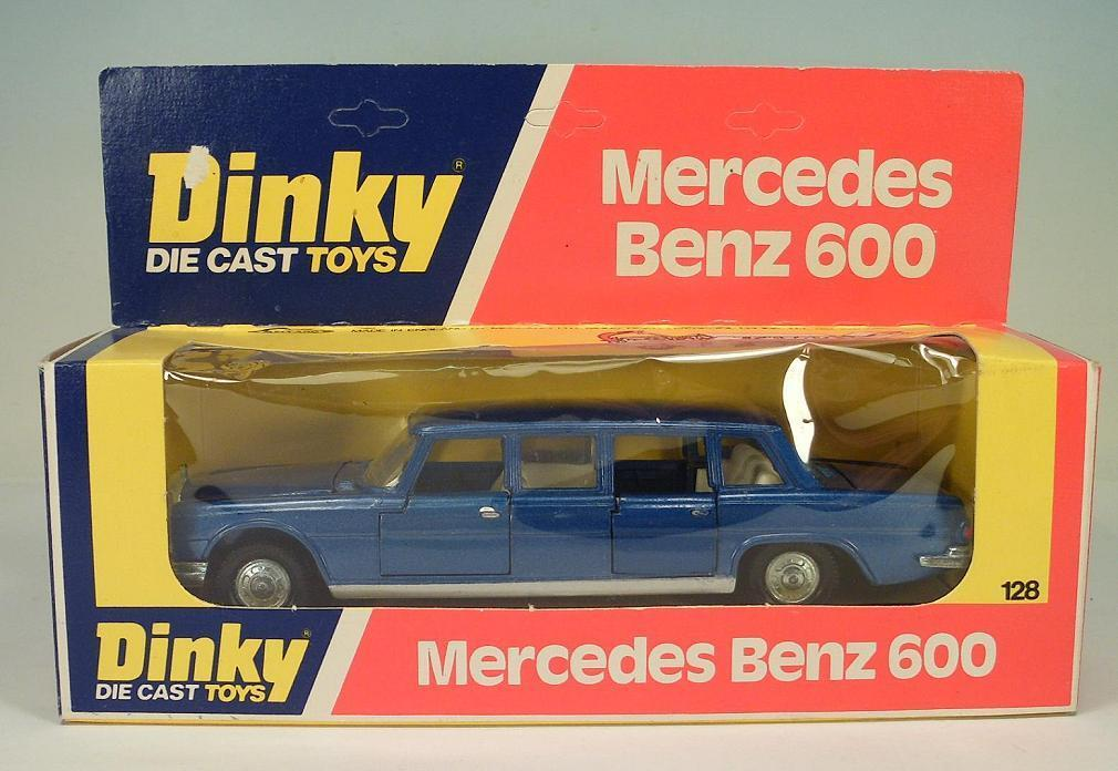 Dinky Toys 128 mercedes benz 600 OVP