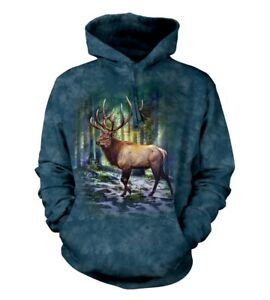 Hoodie Sunlit Adult Elk Mountain Animal The Unisex dQeEoWrCxB