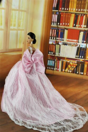 Fashion Royalty Pink Princess Dress Gown Clothes For 11.5in.Doll Silkstone c047