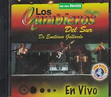 Los Cumbieros del Sur De Emilio Gallardo En Vivo CD New Nuevo sealed