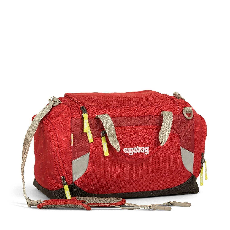 Ergobag Sporttasche Schule Reisetasche Kinder 40 cm cm cm (Küss den Bär-rote kronen) fc93be
