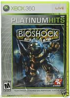 Bioshock Xbox 360 Fps Shooter Us Version Brand Factory Sealed