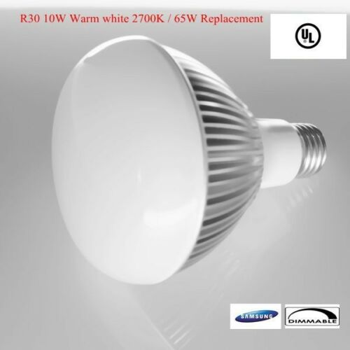 6 x 11W LED R30 recess ceiling light with Samsung LED  replaces 65W halogen