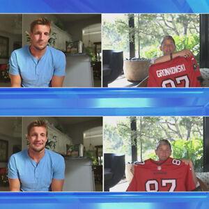 Rob-Gronkowski-Tampa-Bay-Buccaneers-Autographed-Jersey-The-Ellen-DeGeneres-Show