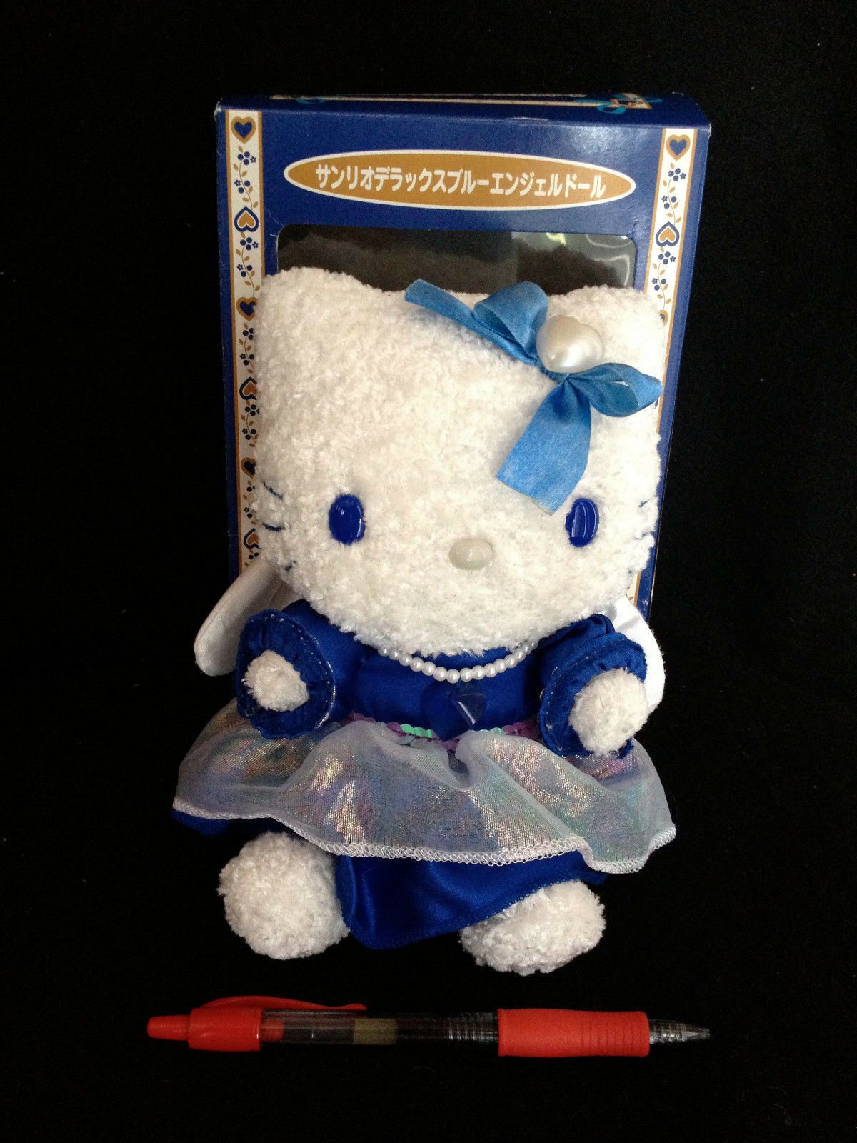 BOXED ROYAL blueE ANGEL HELLO KITTY from Japan-ship free