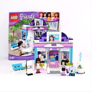 LEGO Friends Butterfly Beauty Shop Set 3187 Complete with ...