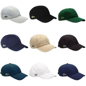 69778dea Lacoste Cap - Lacoste Cotton and Poly Cap - RK2447 - RK9811 - Black ...