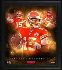 """Patrick Mahomes Kansas City Chiefs Framed 15"""" x 17"""" Stars of the Game Collage"""