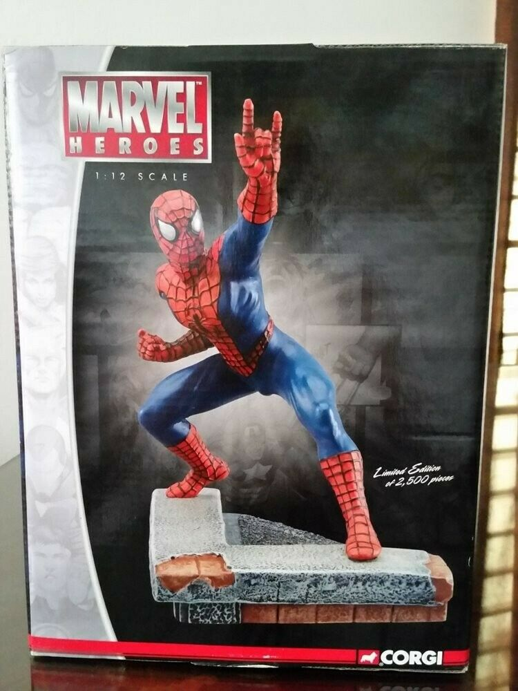 MARVERL  SPIDER-homme STATUE LIMITED EDITION  classique intemporel